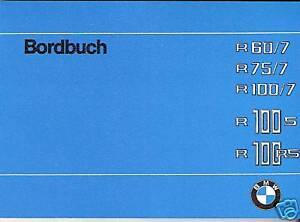 BMW-Bordbuch-Betriebsanleitung-R-75-R-60-100-7-R60-R75-R100-R100S-RS-neu