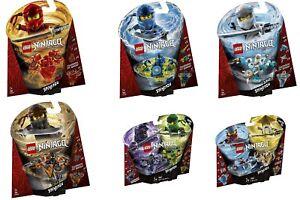 Ensemble 6 pièces Lego® Ninjago® 70659 70660 70661 70662 70663 et 70664