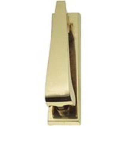 Contemporary Brass D21 Urn knocker Heavy Duty Ponytail Door Knocker