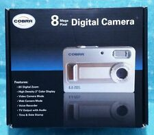 "Cobra 8 Mega Pixel Digital Zoom Camera/Video Camera - High Density 2"" Display"