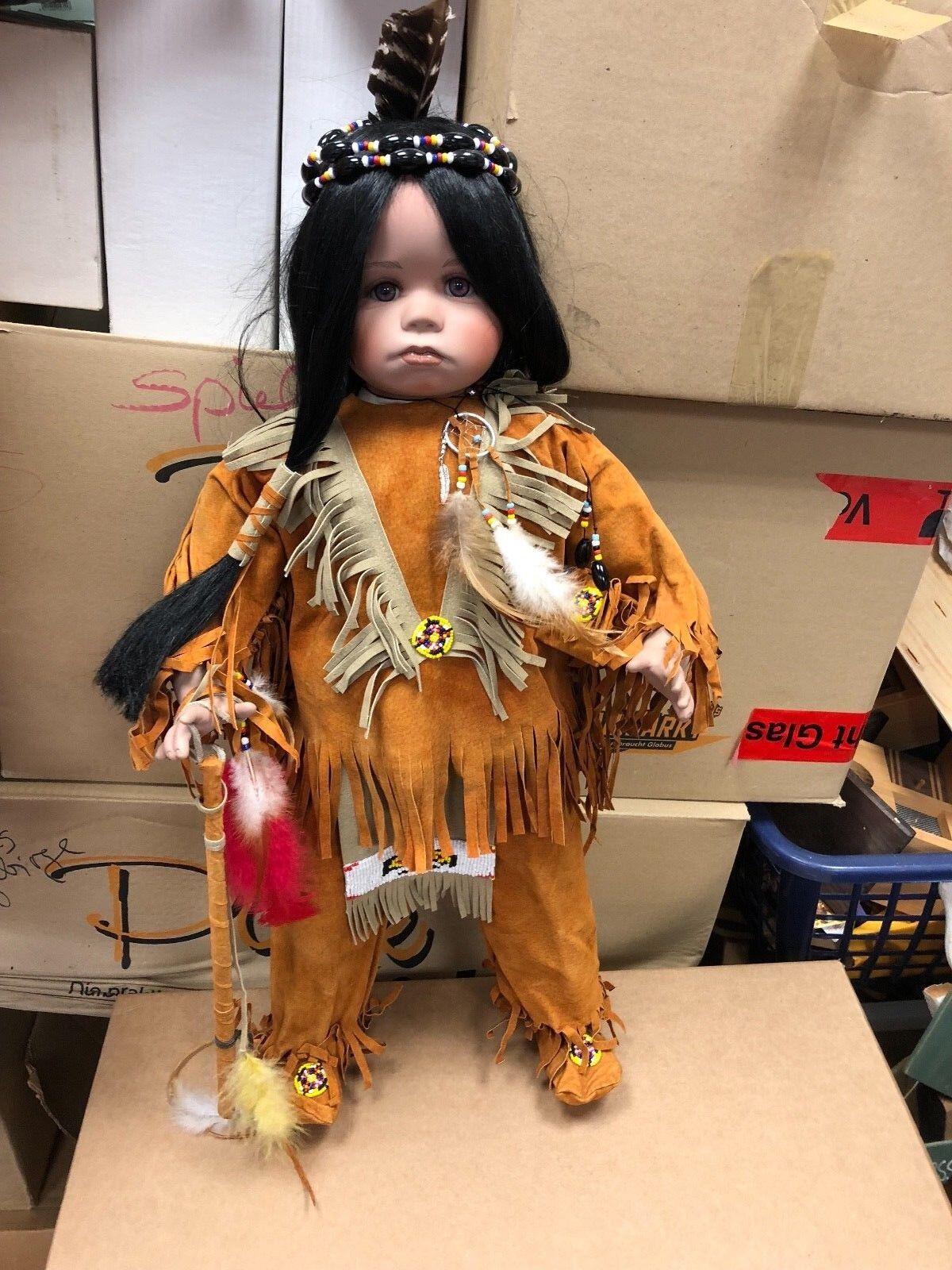 Artista muñeca ⭐️⭐️ porcelana muñeca 62 cm. ⭐️⭐️ excelente estado