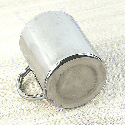 450ml New Stainless Steel Coffee Mug Tumbler Camping Mug Double-deck Bilayer Cup