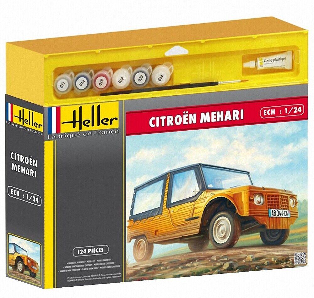 Heller 1 24 Citroen Mehari Geschenkbox  50760G