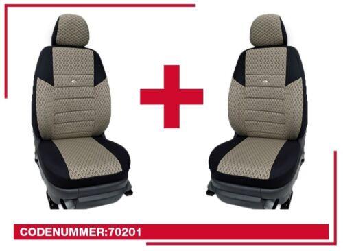 Maß Schonbezüge Mercedes W447 Vito  Sitzbezüge für Zwei Einzelsitze 70201