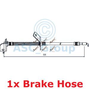 Apec-BRAKING-535mm-Scheibe-Bremssattel-Flexibel-Gummischlauch-HOS4007