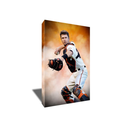 San Francisco Giants All Star BUSTER POSEY Poster Photo Painting CANVAS Wall Art