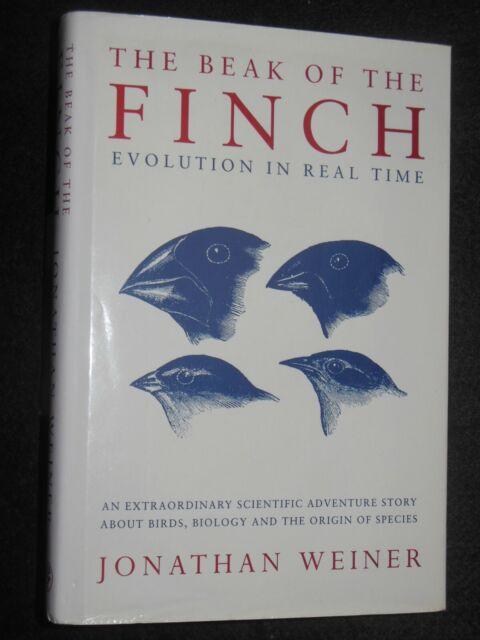 Präsentation kopieren; der Schnabel des Finch von Jonathan Weiner (1994-1st) Evolution