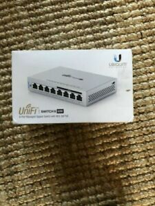 Ubiquiti-Networks-US-8-60W-UniFi-8-Port-Gigabit-PoE-Compliant-Managed-Switch-NEW