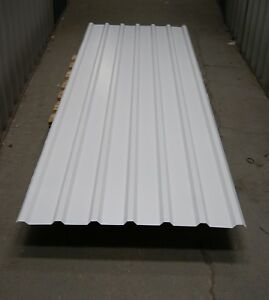 Steel Box Profile Roofing Cladding 10ft Long Self Storage