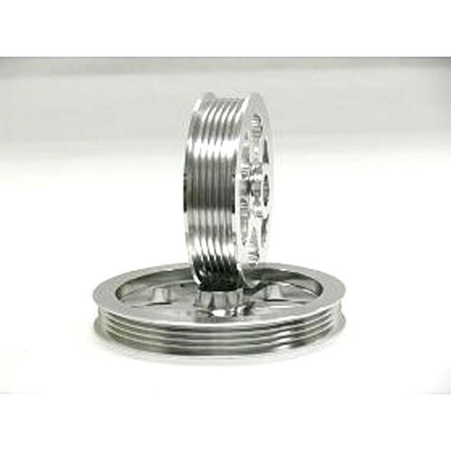 Silver Overdrive Pulley Set For 97-99 Acura CL 94-02