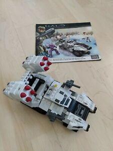 Halo Mega Bloks Construx UNSC Arctic Wolverine 96852 - pre-owned, incomplete