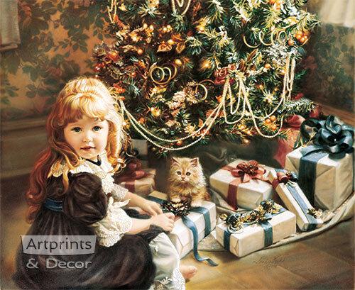 : Art Print : Christmas Day by Sandra Kuck
