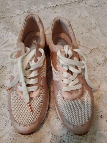 Michael Kors shoes 8.5 sneakers Rose Gold - EUC