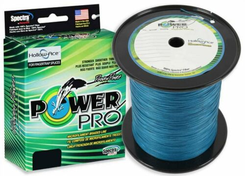 1500 Yards PowerPro Hollow Ace Spectra Fishing Braided Line Pick Test//Color