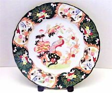 "*ANTIQUE MASONS IRONSTONE ENGLAND 10""CHINA PHOENIX BIRD~IMARI DINNER PLATE #255"