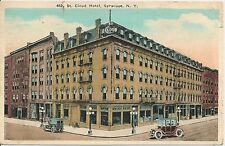 St. Cloud Hotel Syracuse NY Postcard 1923