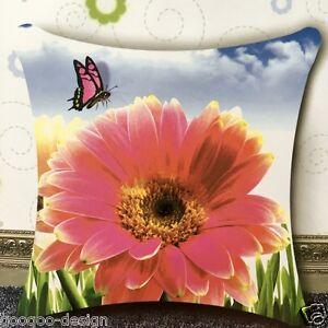 Stick-envase-almohada-rosa-Gerbera-Aster-46x46cm-rosa-Daisy-cruz-pinchazo-DIY-f30018