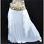 Two Sides Slit Long Skirt Hip Skirt Ear Skirt Belly Dance Costumes Dancewear NEW