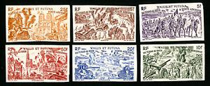 Wallis-et-Futuna-Stamps-C2-7-VF-Imperf-OG-NH