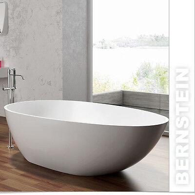 Freistehende Badewanne Acryl SORRENTO weiß - 170x80cm