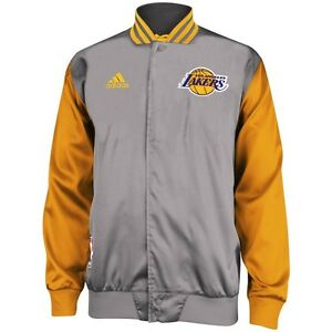 7d90bfdf8d8 adidas LOS ANGELES LAKERS WARM UP JACKET - SIZE SMALL - LEBRON JAMES ...