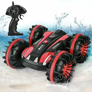 Waterproof-Remote-Control-Car-Boat-Truck-for-Kids-Water-RC-Car-RC-Stunt-Car-Toy
