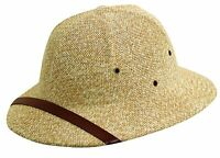 Dorfman Pacific Straw Classic Safari Pith Helmet Hat on sale