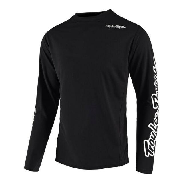 L Mens Sram Tld Racing White 2017 Troy Lee Designs Skyline Air Jersey Short-Sleeve