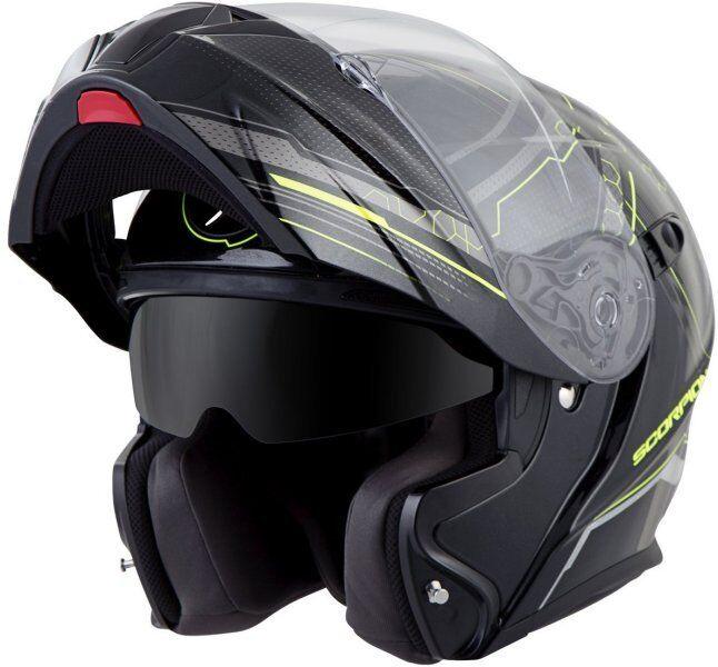 Scorpion EXO-GT920 Satellite Modular Helmet Neon Free Size Exchanges
