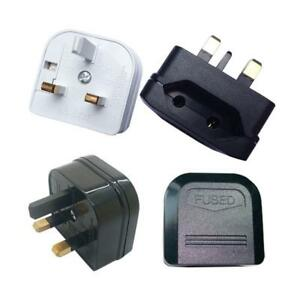 Euro Travel Mains Connectionsconverter Adaptor Eu 2 To 3 Pin Plug Uk