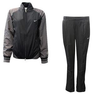 new products best cheap new arrive Détails sur Nike Sport Excellence Femmes Polyester Coupe Standard  Survêtement Noir CC27