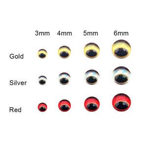 2D Fishing Lure Simulation Fishing Gear 3D Fake Practical Fish Eyes Lure Eye BT