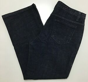 Talbots-Jeans-Women-039-s-Size-10-Petite-Boot-Cut-Dark-Wash-High-Rise