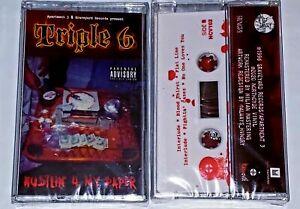 [Cassette Tape] Triple 6 - Hustlin' 4 My Paper 1996-2020 Dre Dog Rap Hip-Hop