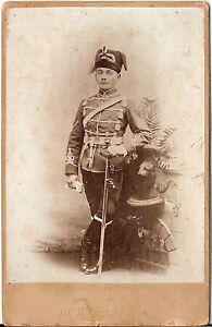 CAB-photo-Soldat-Husar-mit-Pelzmuetze-Luzern-1890er