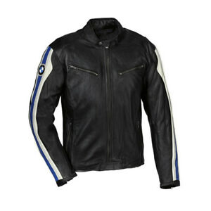 Men BMW Racing Leather Jacket Motorcycle Leather Jacket Motorbike Leather Jacket