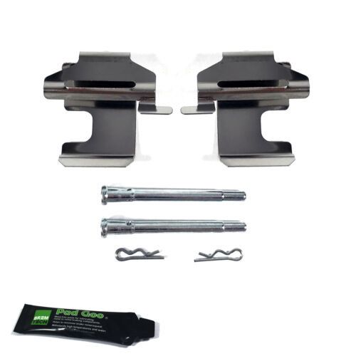 FIAT CINQUECENTO ALL MODELS FRONT BRAKE PAD FITTING KIT PAD PINS BPF1273D