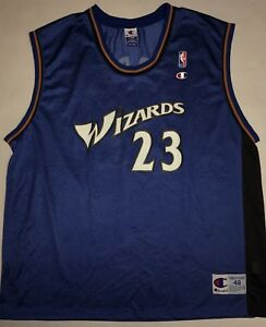 903c7f49e0a Image is loading Vintage-Washington-Wizards-Michael-JORDAN-23-Jersey-Men-