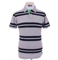 Aeropostale Men Short Sleeve Stripe A87 Jersey Polo Shirt Style 7986 -Free$0Ship
