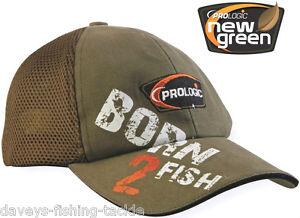 PROLOGIC BORN 2 FISH CAP FISHING HUNTING SHOOTING SKI SKIING HIKING CASUAL HAT