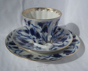 Russian-Imperial-Lomonosov-Porcelain-set-of-3-cup-saucer-plate