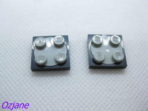 LEGO Part 3679 /& 3680 plateau tournant de 2 x 2 Plaque pour 2 pièces