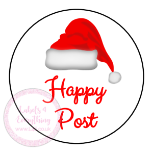 Christmas-Happy-Post-Thank-You-Stickers-Seals-Labels-Orders-Customer-Good-News
