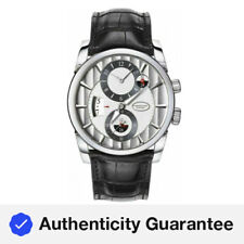 Parmigiani Tonda Hemispheres 18k White Gold Men's 42mm Watch PFC231-1200100