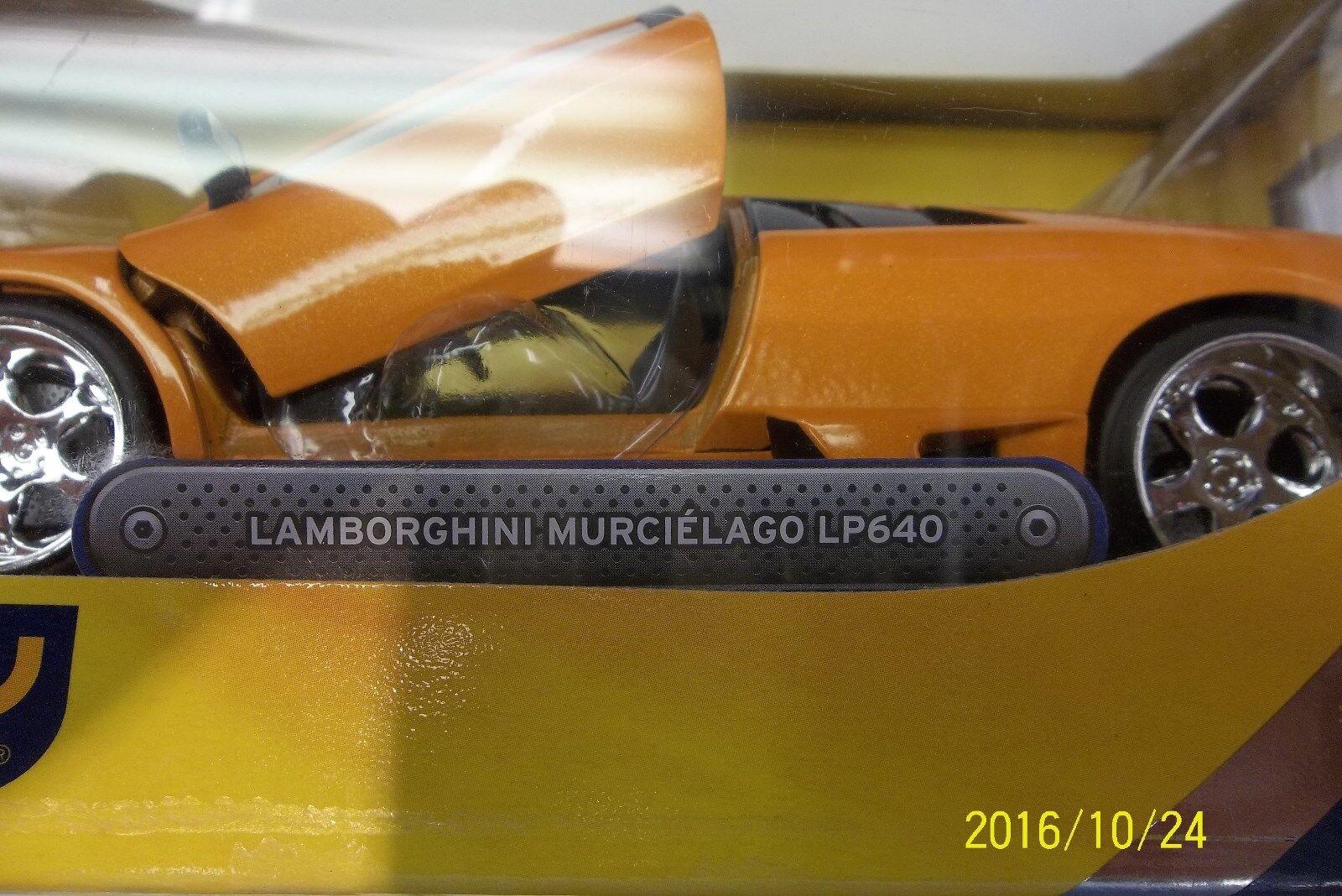 JADA TOYS DUB DUB DUB CITY LAMBORGHINI MURCIELAGO LP640 1 24  RARE  orange ec9d80