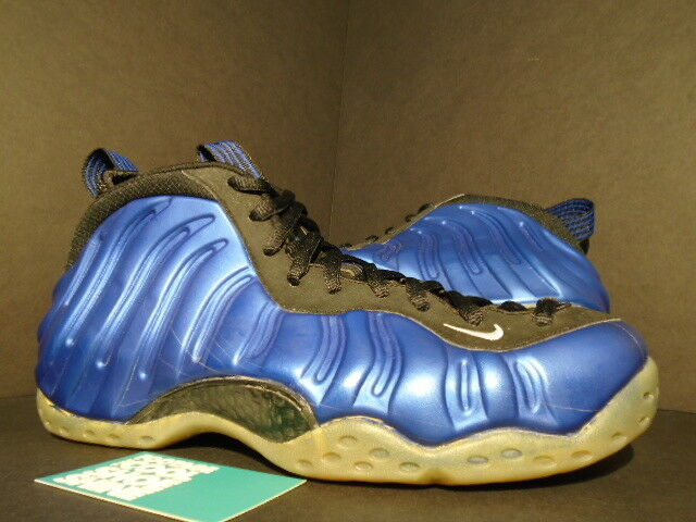 1997 ORIGINAL NIKE AIR FOAMPOSITE ONE 1 PENNY NEON ROYAL BLUE WHITE BLACK NEW 11