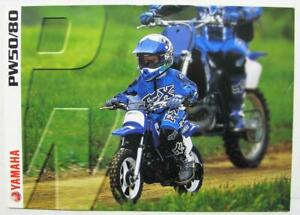 Yamaha Pw50 Pw80 Motorcycle Sales Spec Leaflet 1999 Uk Market 3mc 0107026 99e Ebay