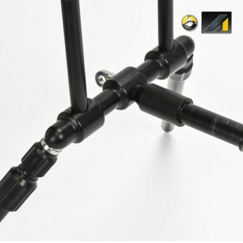 NEW Solar Tackle A1 GT Low Profil Rod Pod With 3-Rod Buzz Bars incl Bag A1POD-3