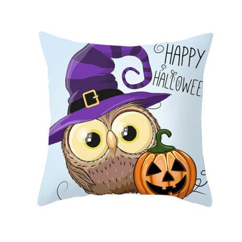 Halloween Owl Series Pillow Case Nordic Cushion Waist Pillow Case Halloween HY