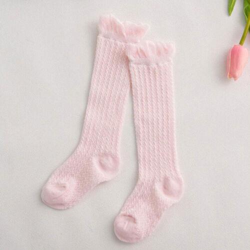 AB/_ BL/_ Infant Toddler Baby Girls Boys Above Knee Summer Socks Warmer Stockings